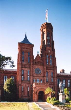 """The Castle"" Smithsonian Institution Building"