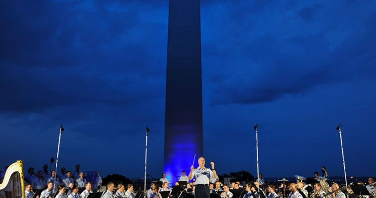 Air Force Memorial Concert Series 800X600