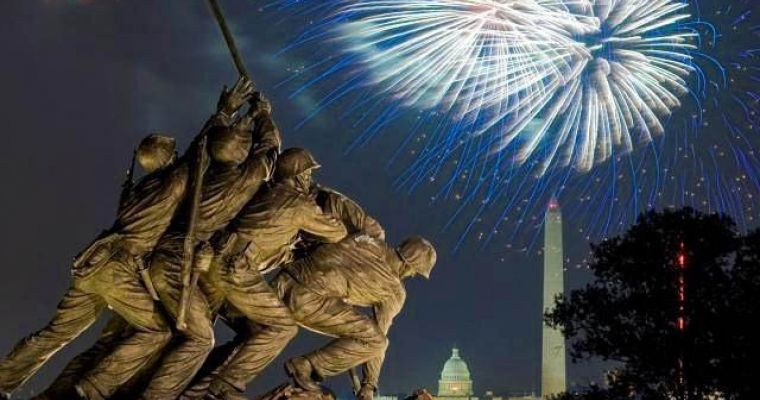 Iwo Jima 4th of July Fireworks